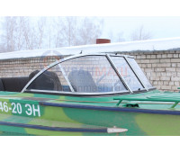 Стекло на лодку Амур-М с рамкой
