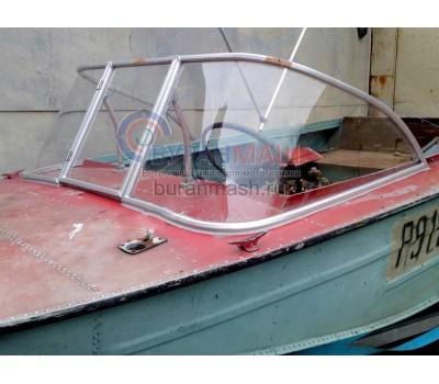 Стекло на лодку Днепр с рамкой