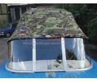 Стекло на лодку Казанка 2М с рамкой