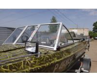 Стекло на лодку Казанка 5М2, 5М3, 5М4 с рамкой