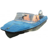 Стекло для лодки Казанка 5М2, 5М3, 5М4