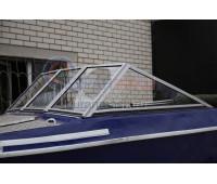 Стекло на лодку Крым 3 с рамкой