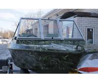 Стекло на лодку Крым М с рамкой