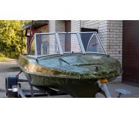 Стекло на лодку Обь-М с рамкой