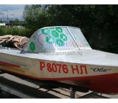 Стекло на лодку Обь-1 без калитки
