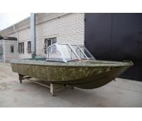 Стекло на лодку Ока-4 с рамкой