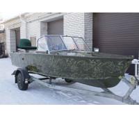 Стекло на лодку Прогресс-2 с рамкой