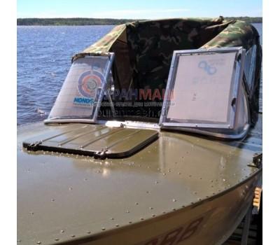 Стекло на лодку Прогресс 2 с рамкой