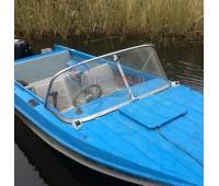Стекло на лодку Казанка заводские размеры