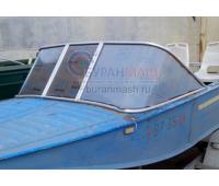 Стекло на лодку Воронеж с рамкой
