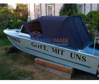Тент ходовой и дуги на лодку Прогресс 4