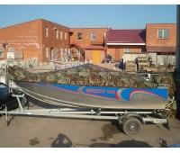 Тент транспортировочный на лодку Grizzly 520 (Гризли 520)