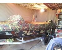 Тент транспортировочный на лодку Казанка 5м2, 5м3, 5м4