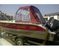 Тент ходовой и дуги на лодку Corvet 500 (Корвет 500)