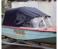Тент ходовой и дуги на лодку Днепр