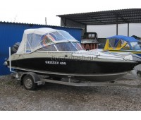 Тент ходовой и дуги на лодку Grizzly 470 (Гриззли 470)
