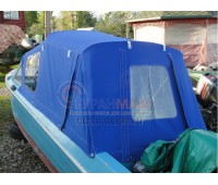 Тент ходовой и дуги на лодку Обь-3