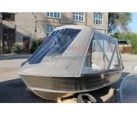Тент ходовой и дуги на лодку Quintrex 390 Dart (Квинтрекс 390)