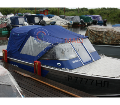 Тент ходовой и дуги на лодку Салют 480
