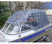 Тент ходовой и дуги на лодку Windboat 46 (Виндбот 46)