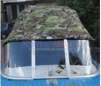 Тент ходовой и дуги на лодку Казанка-2М